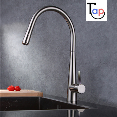 Talt Nickel Kitchen Tap