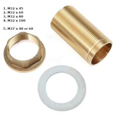 Brass Tube Nut Extenders
